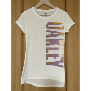 オークリー(Oakley)の未使用❤️OAKLEY オークリー レディース Tシャツ ホワイト(Tシャツ(半袖/袖なし))