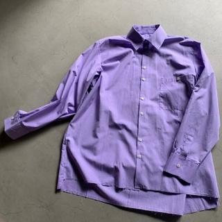 Maison Martin Margiela - camiel fortgens oversized shirt lilac