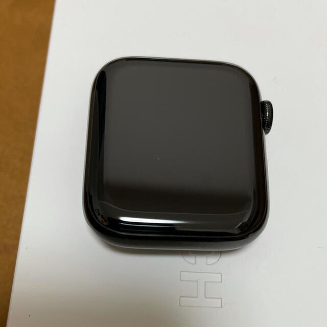 Apple Watch(アップルウォッチ)のApple Watch Series 5 ブラックステンレススチール ミラネーゼ メンズの時計(腕時計(デジタル))の商品写真