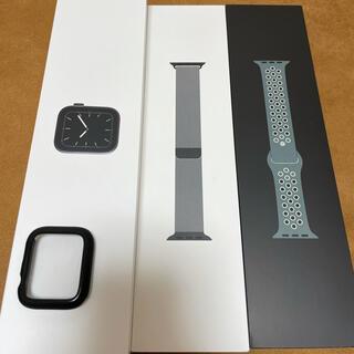 Apple Watch - Apple Watch Series 5 ブラックステンレススチール ミラネーゼ