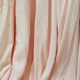 ピンク🌸透ける揺れるスカート