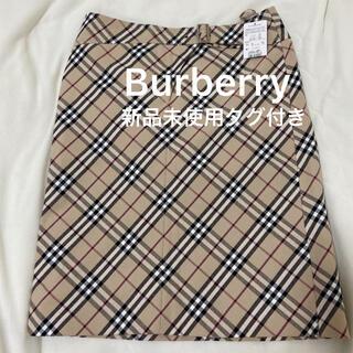 BURBERRY - BURBERRY London ベルト付きスカート 新品未使用 タグ付き