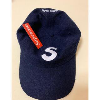 Supreme - supreme terry s logo cap navy