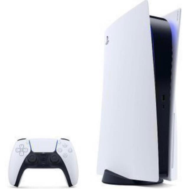 PlayStation(プレイステーション)の【新品、未開封】SONY PlayStation5 プレイステーション5 エンタメ/ホビーのゲームソフト/ゲーム機本体(家庭用ゲーム機本体)の商品写真