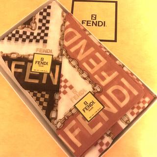 フェンディ(FENDI)の未使用 フェンディ   ハンカチスカーフ   人気の2枚セット(ハンカチ)