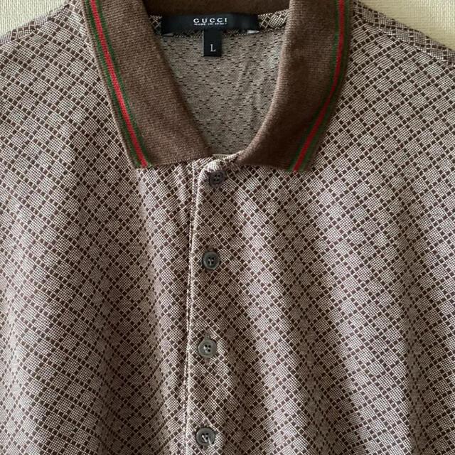 Gucci(グッチ)のGUCCI ポロシャツ グッチ メンズのトップス(ポロシャツ)の商品写真