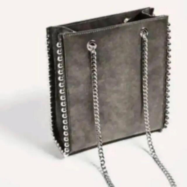 ZARA(ザラ)のザラ ZARAチェーンバッグ レディースのバッグ(ショルダーバッグ)の商品写真