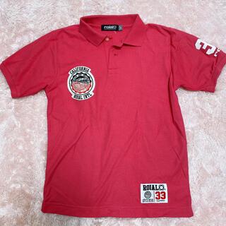 ロイヤル(roial)の【メンズ roial】ポロシャツ ピンク(ポロシャツ)