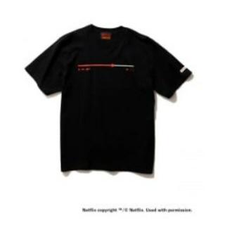 BEAMS - NETFLIX BEAMS Playbar T-Shirt BLACK XL