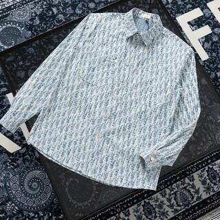 ディオール(Dior)のフルプリントジャカード長袖シャツ(シャツ)