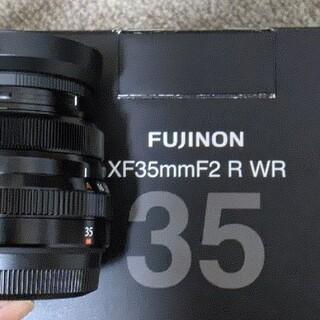 富士フイルム - XF35mm F2 R WRブラック