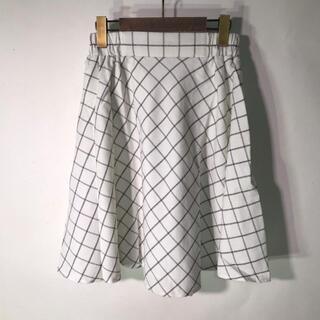 テチチ(Techichi)の【新品】Techichi チェック柄 スカート(ひざ丈スカート)
