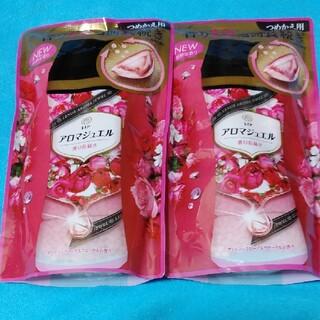 ピーアンドジー(P&G)のレノアアロマジュエル アンティークローズ&フローラルの香り2袋(洗剤/柔軟剤)