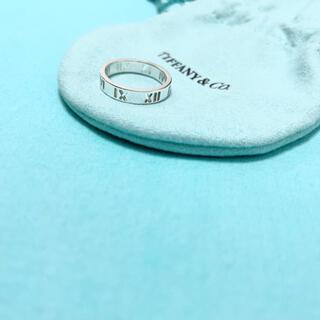 ティファニー(Tiffany & Co.)のTiffany & Co. アトラス オープン リング 指輪 7号 シルバー(リング(指輪))