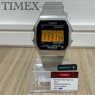 TIMEX - 【新品】TIMEX タイメックスクラシックデジタルウォッチ 腕時計 シルバー