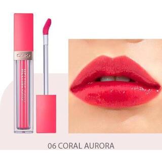 スリーシーイー(3ce)のClio Melting Dewy Tint #06 Coral Aurora(口紅)