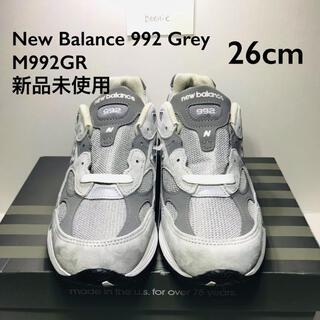 New Balance 992 GR 26cm(スニーカー)
