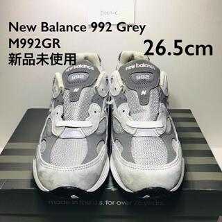 New Balance 992 GR 26.5cm(スニーカー)