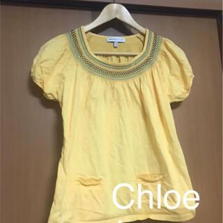 シーバイクロエ(SEE BY CHLOE)の【Chloe】ハイブランド!クロエ❤️イエロートップス Tシャツ❤(カットソー(半袖/袖なし))