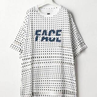 FACETASM - FACETASM  FACE DOT BIG TEE