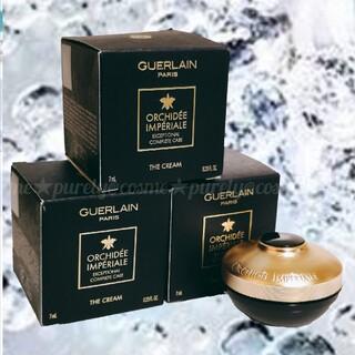 GUERLAIN - 【GUERLAIN】 ゲラン オーキデ アンぺリアル ザ クリーム 7ml×3個