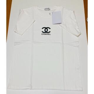 CHANEL - 新品未使用 CHANELノベルティTシャツ カラーホワイト サイズM