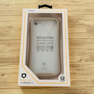 iPhone - iFace Reflection iPhone7,8,SE2 ベージュ