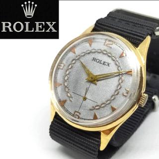 ロレックス(ROLEX)の【一品物】ロレックス ROLEX アンティークウォッチ 18k 腕時計(腕時計(アナログ))