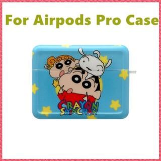 AirPods Pro ケース【クレヨンしんちゃん ブルー】可愛い トレンド