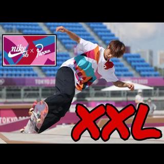 ナイキ(NIKE)の2XL スケボー Nike Tシャツ Nike SB オリンピック 堀米雄人(Tシャツ/カットソー(半袖/袖なし))