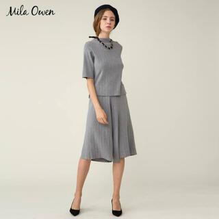 Mila Owen - 新品【Mila Owen】ミラオーウェン ガウチョパンツ 上品 セットアップ