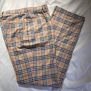 バーバリー(BURBERRY)のバーバリー USA2  Burberry golf パンツ 美品(カジュアルパンツ)