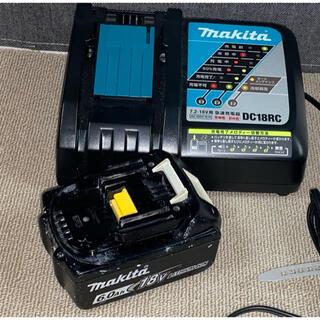 Makita - マキタ純正 急速充電器、バッテリー