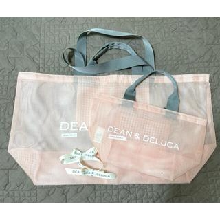 DEAN & DELUCA - リボン付き DEAN&DELUCA メッシュトートバッグ S&ビッグセット