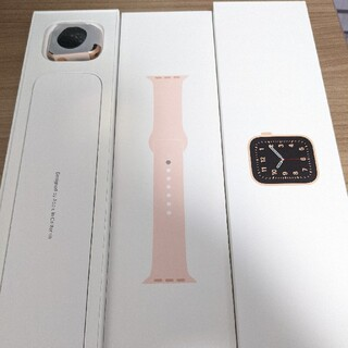 Apple Watch - 【美品】Apple Watch SE(GPSモデル)40mm ピンクバンド