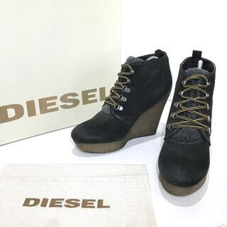 ディーゼル(DIESEL)のディーゼル DIESEL 24.5cm US7.5 レディース ショートブーツ(ブーツ)