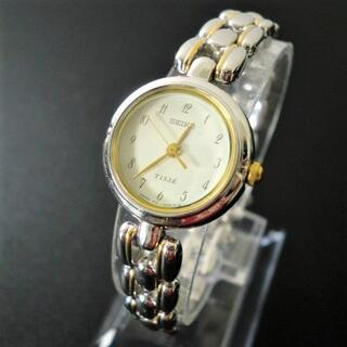 セイコー(SEIKO)の【稼働美品】セイコー TISSE レディース腕時計 コンビカラー 電池交換済(腕時計)