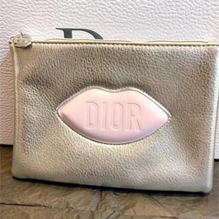 Dior - ディオール ノベルティ ポーチ シルバー フラットポーチ 箱なし