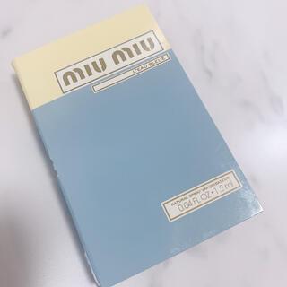 miumiu - ミュウミュウ ミニサンプル 香水