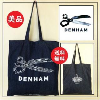 DENHAM - 送料込 使用数回 美品★DENHAM デニム トートバッグ 横浜店オープン記念