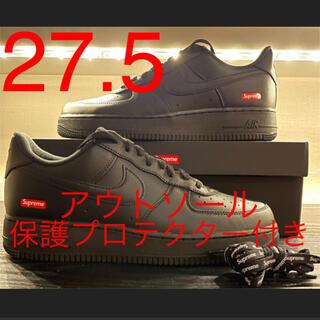 Supreme - supreme ナイキ エアフォース1 'ブラック