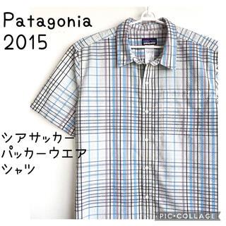 パタゴニア(patagonia)のPatagonia パタゴニア シアサッカー パッカー ウエア 半袖 シャツ(シャツ)
