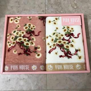 PINK HOUSE - ピンクハウス フェイスタオル