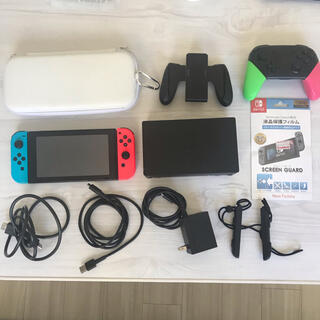 Nintendo Switch - 【プロコンセット!】任天堂Switch プロコン・ケース・保護フィルムセット