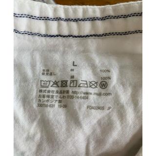 ムジルシリョウヒン(MUJI (無印良品))のインド綿 二重ガーゼクルタ 白(ルームウェア)