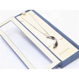 ミキモト(MIKIMOTO)のミキモト シルバー ネックレス 42cm 三日月モチーフ 6.5mm(ネックレス)