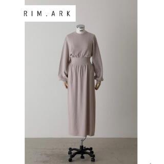 ENFOLD - 人気!【RIM.ARK】20SS Unbalance soft knit OP