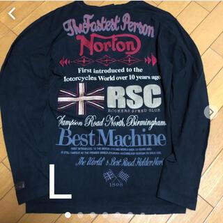 ノートン(Norton)のNorton長袖tシャツ ロンt    L(Tシャツ/カットソー(七分/長袖))