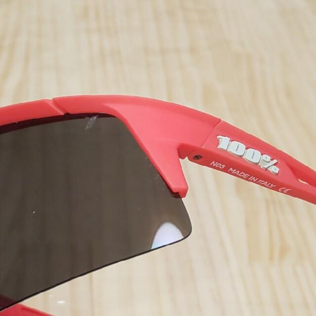 Oakley(オークリー)の100% ワンハンドレッド SPEEDCRAFT XS ソフトタクトコーラル スポーツ/アウトドアの自転車(ウエア)の商品写真