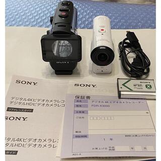 SONY - ソニー ウエアラブルカメラ アクションカム (FDR-X3000)